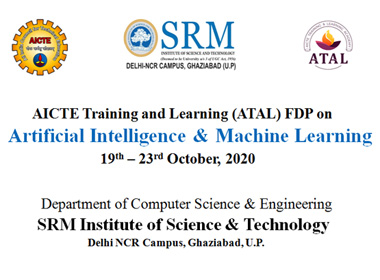 Workshop on Artificial Intelligence and Machine Learning